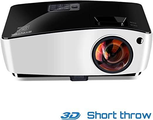 WF HD 4000 Lúmenes 1080 P Proyector De Tiro Corto, Lente De Ojo De ...