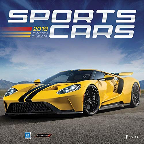 2019 Sports Cars Wall Calendar, Sports Car by BrownTrout