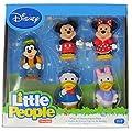 Disney Mickey Mouse Little People 5 Figure Set