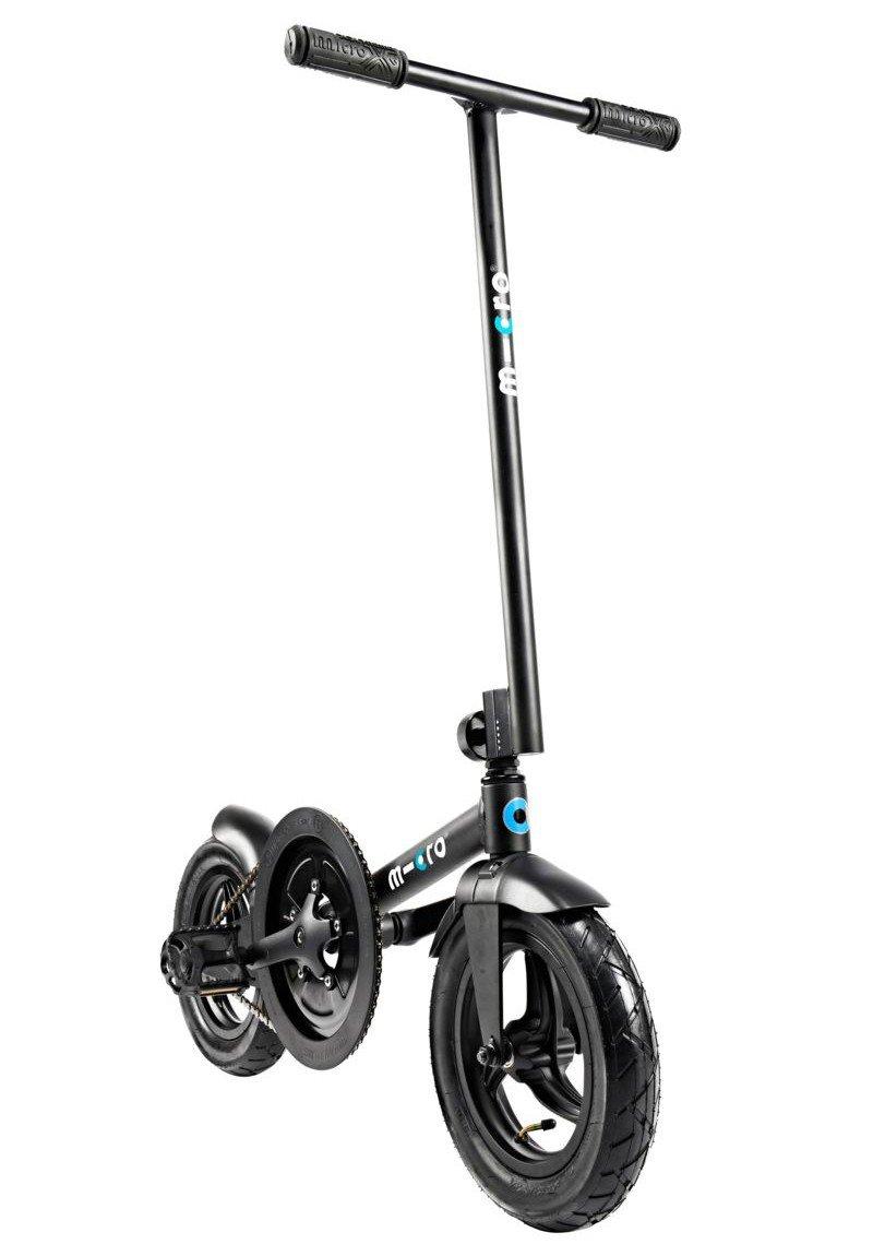 Micro Pedalflow Folding Bike - Black