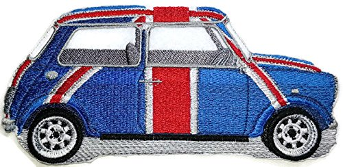 - Classic Truck Collection [ Austin Mini] [American Automobile History in Embroidery] Embroidered Iron On/Sew patch [6.55