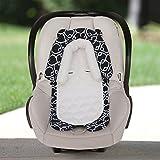 Goldbug 2-in-1 Infant Car Seat Head Support Geo- Black/White