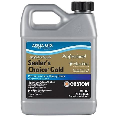 Amazon.com: Aqua Mix Sealers Choice Gold sellador, cuarto ...