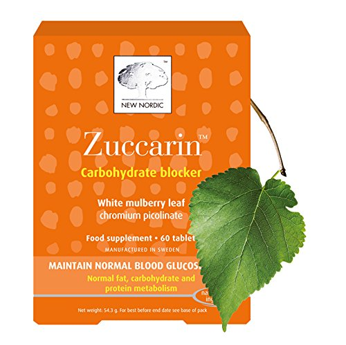 New Nordic Ltd New Nordic Zuccarin Extra Strength Natural Supplement 60 Tablets
