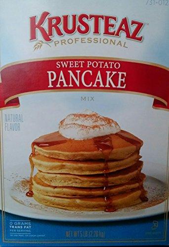Sweet Potato Pancake Mix Krusteaz 5lb Box (2 Count Per Order) ()