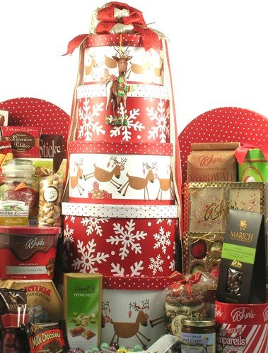 Christmas Keepsakes Gourmet Christmas Gift Basket by Organic Stores