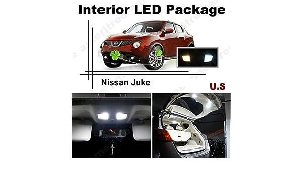 Premium Xenon White Light SMD Interior LED Package Kit for Nissan Juke 2011-2015