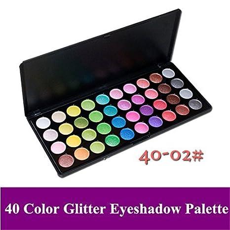 Pure Vie® 40 Colores Sombra De Ojos Paleta de Maquillaje ...