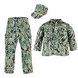 Trooper Clothing NWU Type III/AOR II 3pc Navy Youth Uniform Set (Large (14-16))