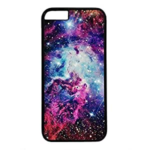 Hard Back Cover Case for iphone 6 Plus,Cool Fashion Black PC Shell Skin for iphone 6 Plus with Cool Starry Sky