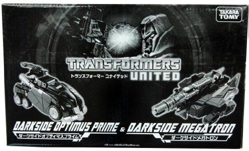 Transformers United WFC Darkside Optimus Prime & Darkside Megatron Set - Tokyo Toy Show 2011 Exclusi