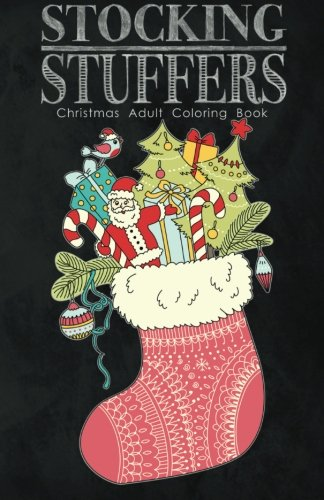 Stocking Stuffers Christmas Adult Coloring product image