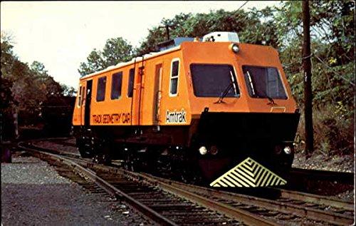 amtraks-track-geometry-car-trains-railroad-original-vintage-postcard
