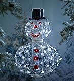 Solar Snowman Decoration