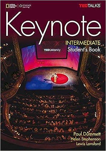 Keynote Intermediate Student's Book with Audio CDs