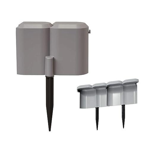 Prosperplast - Cercado para cercado (1,9 m), color gris: Amazon.es ...