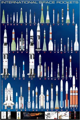 rocket posters for kids
