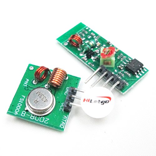 Amazon.com - 433Mhz RF transmitter and receiver kit