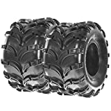 SunF ATV UTV Quad Tires 22x10-10 22x10x10 4 PR A028 (Set pair of 2)