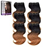 High Quality Short Size 8Inch Ombre Silky Soft Body Wave Human Hair Weft Are you confused of any of these follow problems when you choosing human hair extension? 1. Is it made of real human hair?  2. Is it tangle heavily or shedding too much?  3. Can...