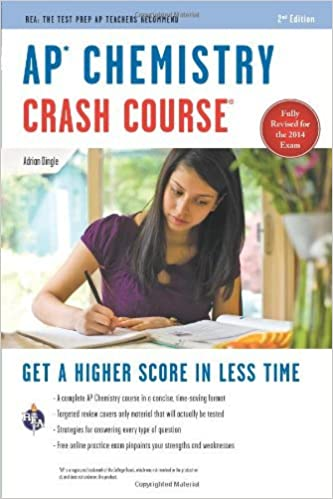 By Adrian Dingle - AP Chemistry Crash Course (Second Edition