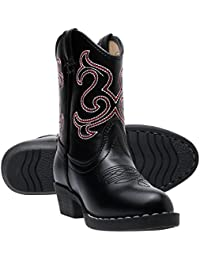 Kids Lil Cowboy Pointed Toe Classic Western Rodeo Boots (Toddler/Little Kid)