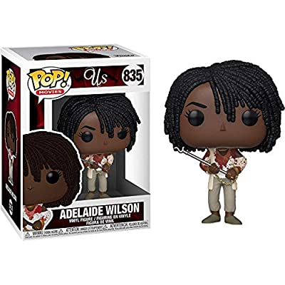 Funko Pop! Movies: Us - Adelaide with Chains & Fire Poker: Toys & Games