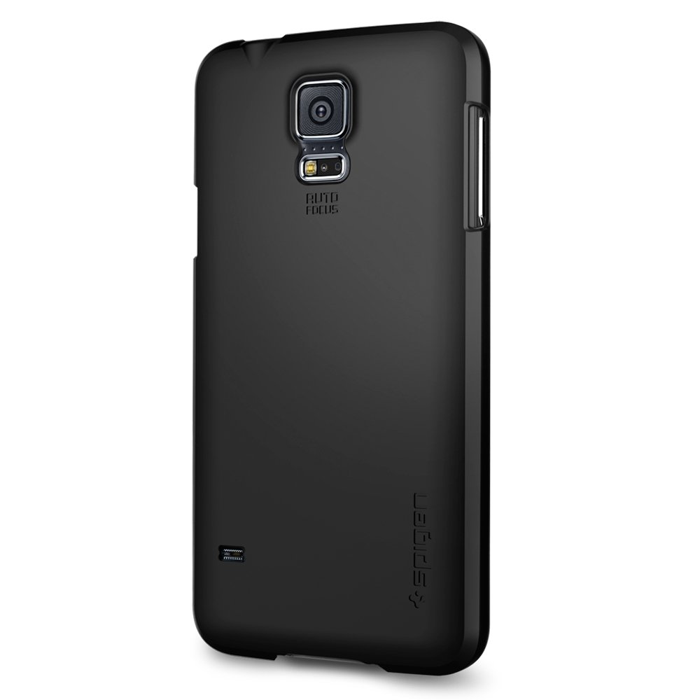 samsung galaxy s5 white case. amazon.com: spigen ultra fit galaxy s5 case with premium finish coating for samsung 2014 - smooth black: cell phones \u0026 accessories white