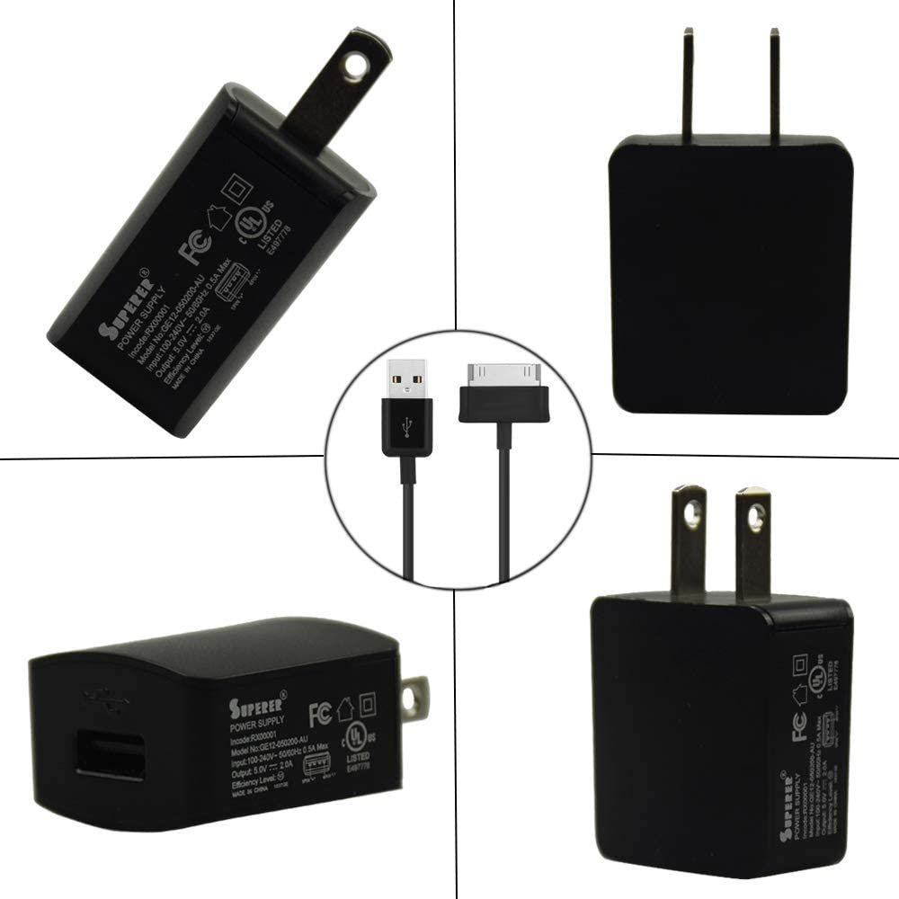 SCH-I905 SGH-T859 Super Power Supply AC//DC Adapter Charger for Samsung Galaxy Tab 10.1 GT-P7510