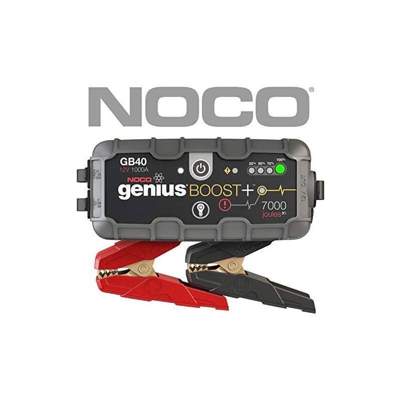 NOCO Genius Boost Plus GB40 1000 Amp 12V