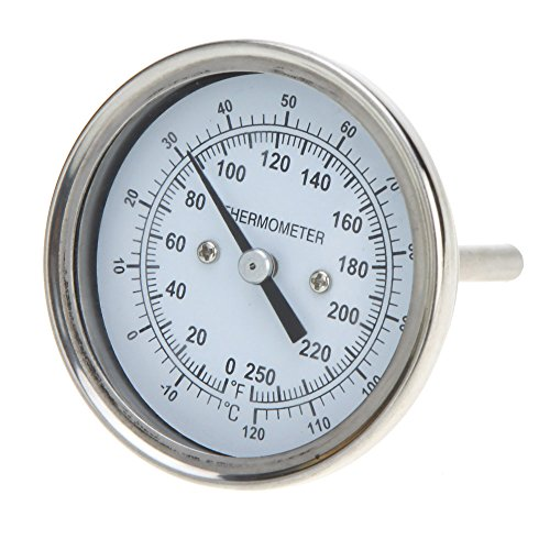 High Precision Stainless Steel Oven Thermometer Temperature Gauge Home Kitchen Food Meat Dial Dial Stainless Steel Meat Thermometer