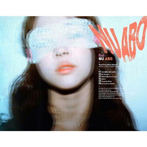 F(X) [NU ABO] 1st Mini Album CD+Booklet FX+Tracking Number K-POP SEALED