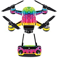Skin for DJI Spark Mini Drone Combo - Tie Dye 2| MightySkins Protective, Durable, and Unique Vinyl Decal wrap cover | Easy To Apply, Remove, and Change Styles | Made in the USA