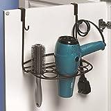 Home-organizer Tech Cabinet Organizer Hair Dryer Holder Cabinet...