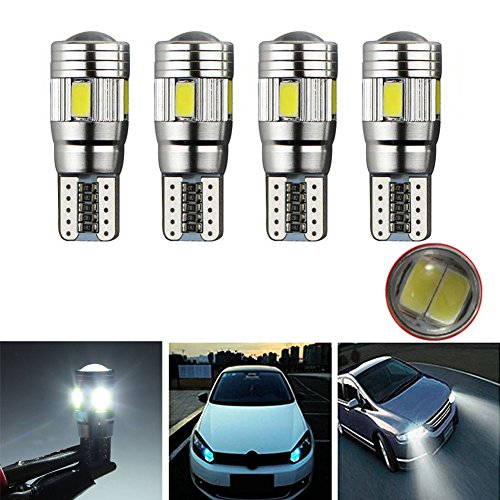 Bright 4pcs 5630 K Canbus Auto 6smd T10 Good Véhicule Ampoule W5w XkPZiuO