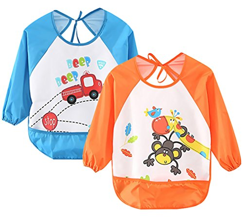 Leyaron Toddler Waterproof Sleeved Months 3 product image