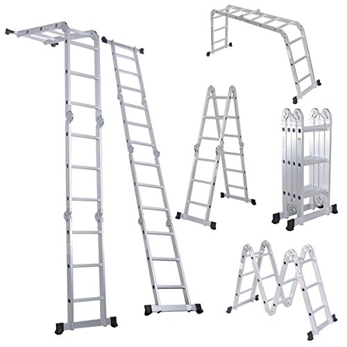 Light Aluminium Step Ladder in US - 7