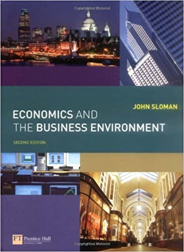 Economics and the Business Environment: AND Companion Website with GradeTracker Student Access Card by Mr John Sloman (2007-12-03)