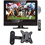 "Supersonic SC-1312 13.3"" LED Widescreen HDTV with DVD Player and Wall Mount"