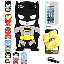 BUKIT CELL 3D Superhero Case Bundle, Batman - Black