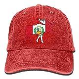 NZWJW85 2018 Adult Fashion Cotton Denim Baseball Cap Peru Flag Moose Classic Dad Hat Adjustable Plain Cap