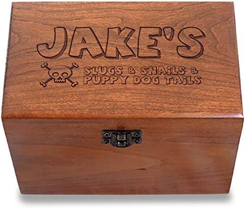 Libro de Recetas personas Cherry receta caja 4 x 6 fabricado en los Estados Unidos Slugs and Snails: Amazon.es: Hogar