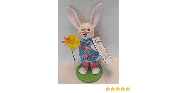 Annalee Dolls 2020 Spring 5in Jelly Bean Wheelbarrow Bunny Plush New with Tags