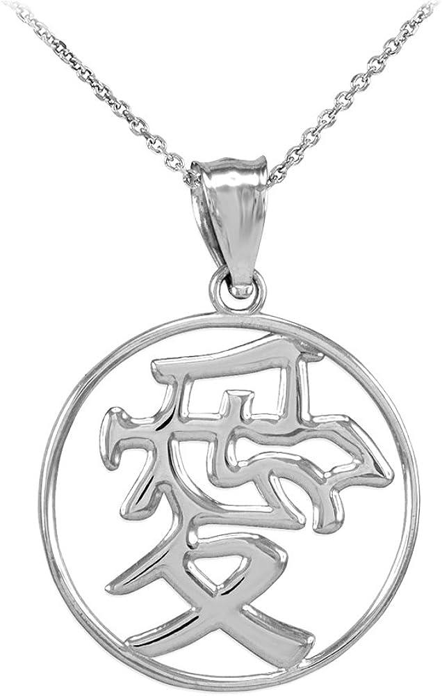 COOL Chinese Dog Zodiac Pendant Libra Sterling silver CHARM