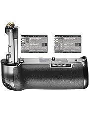 Neewer NW-5D Mark IV Ersatz Canon BG-E20 Batteriegriff mit 2 Satz Nachladbare 7.4V 2000mAh LP-E6 Akkus, Körper geeignet für Canon EOS 5D Mark IV DSLR-Kamera