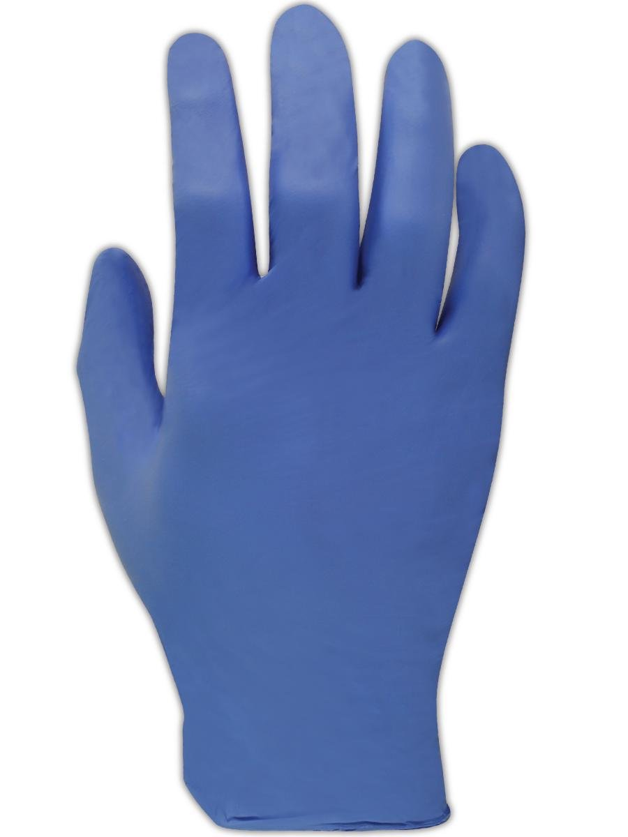 Magid T9339 EconoWear Nitrile Glove, Disposable, Powder Free, 8 mil Thickness, 12 Length, Extra-Small, Blue (Case of 50 Gloves) by Magid Glove & Safety B00BF2ZXCW