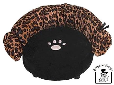 Gorgeous George Pre Funda Leopardo para Cama sofá para Perros pequeños: Amazon.es: Productos para mascotas