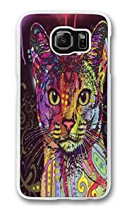 Abyssinian Custom Samsung Galaxy S6/Samsung S6 Case Cover Polycarbonate Transparent by runtopwell