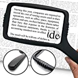 Best Magnifying Glasses - Jumbo Size Magnifying Glass Wide Horizontal Lens(3x Magnification) Review