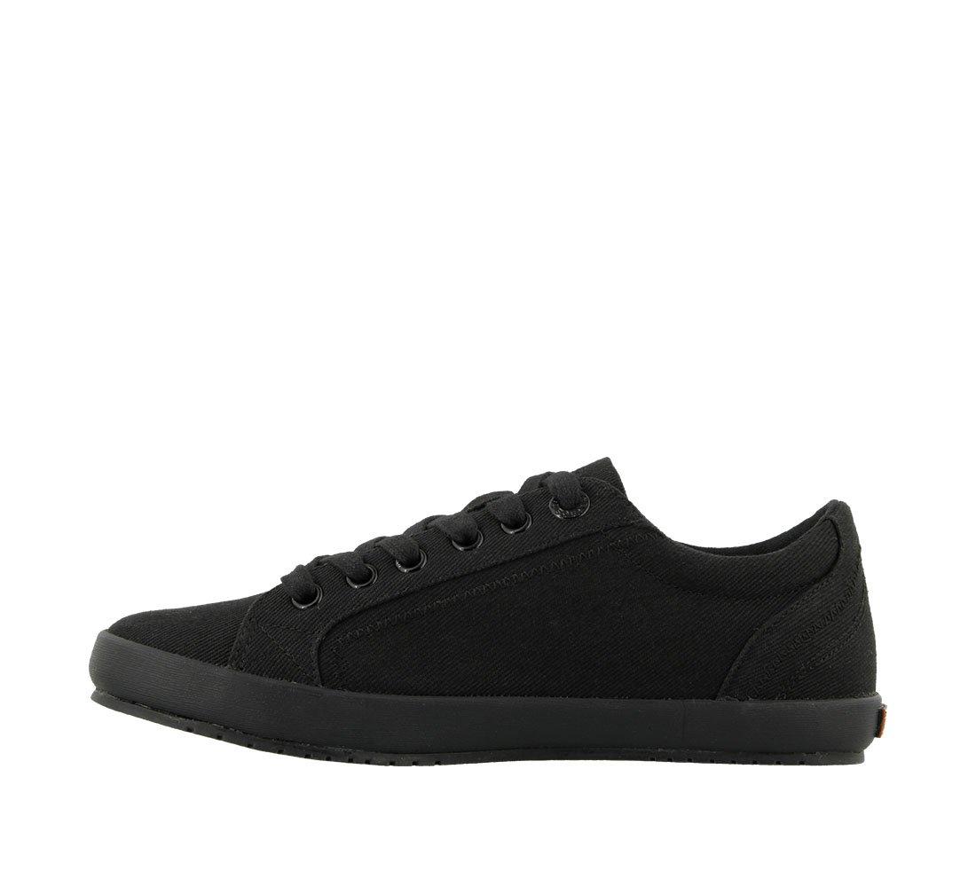 Taos Footwear Women's Star Fashion Sneaker B01K3IBMUA 9 M US Black on Black Twill